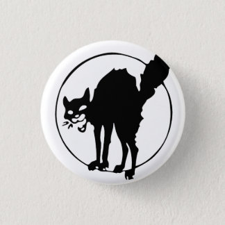 Anarchist Cat Pinback Button