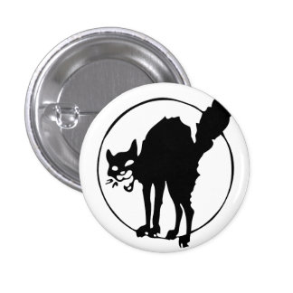 Anarchist Cat Pinback Button