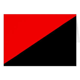 Anarchist, Colombia Political flag Greeting Card