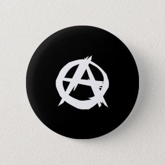Anarchist, Colombia Political flag Pinback Button