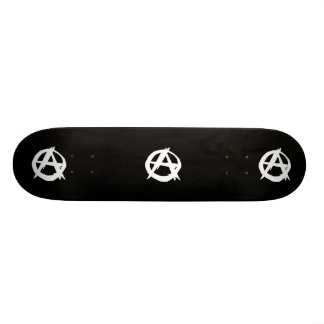 Anarchist, Colombia Political flag Skate Deck
