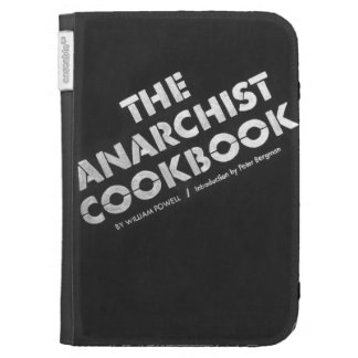 Anarchist Cookbook faux Kindle 3 Covers