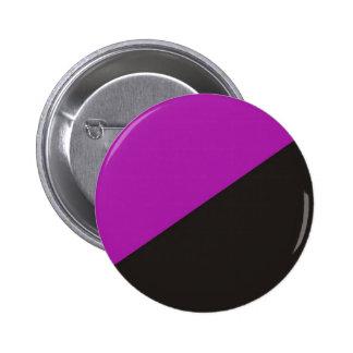 anarchist feminism flag purple black anarchy button