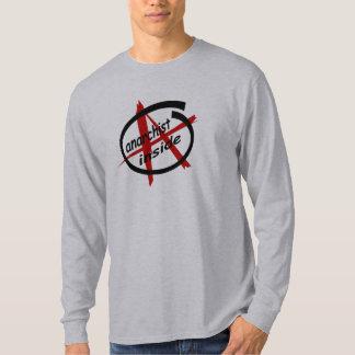 Anarchist Inside T-Shirt