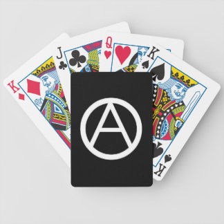 anarchist bicycle playing cards