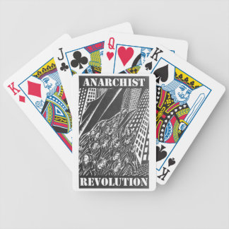 anarchist revolution playing cards