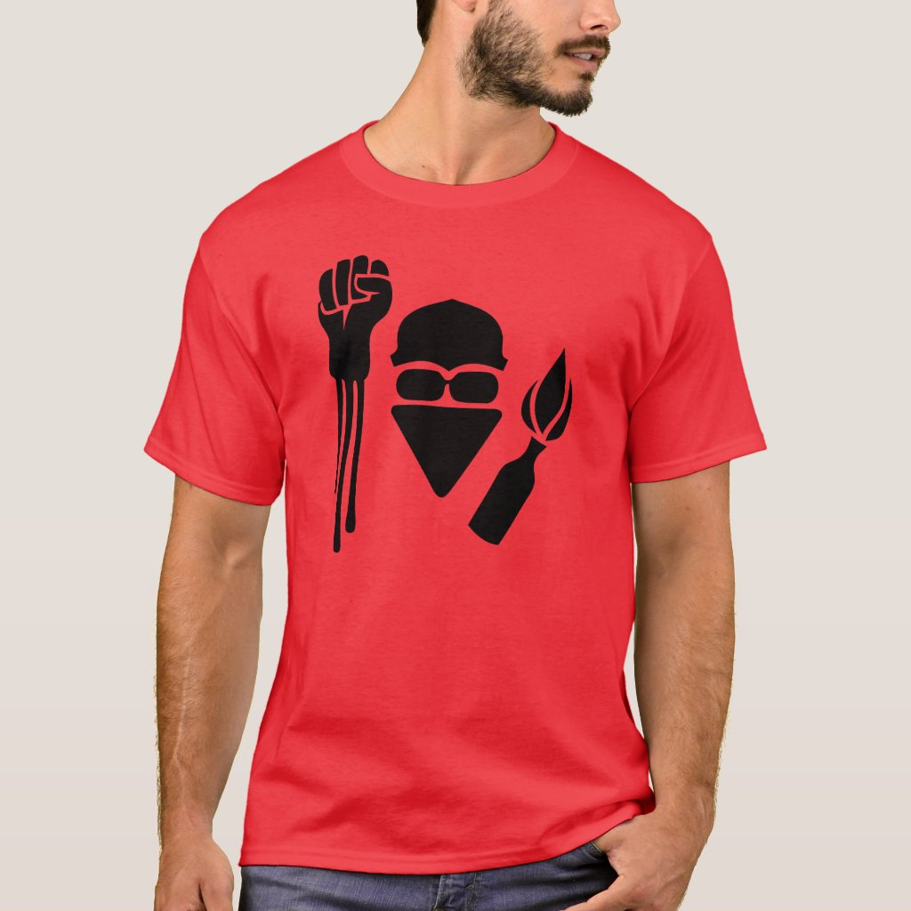 Anarchist salute T-Shirt