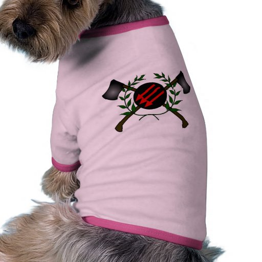 Anarchist Skinhead Communist Skin Head Red/Anarchy Dog Shirt