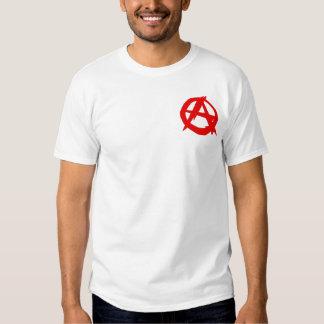 Anarchist (small logo) men's t-shirt