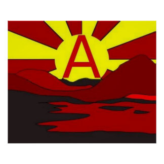 anarchist sunrise poster