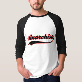 Anarchists Faux Baseball Jersey T-Shirt