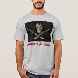 Anarchist's Jolly Roger T-Shirt