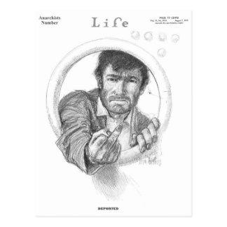 ANARCHISTS MAGAZINE COVER - Vintage Life Postcard