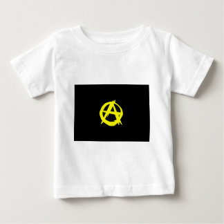 Anarcho Capitalism Black and Yellow Flag Baby T-Shirt