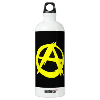 Anarcho Capitalism Black and Yellow Flag SIGG Traveler 1.0L Water Bottle