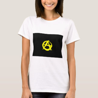 Anarcho Capitalism Black and Yellow Flag T-Shirt
