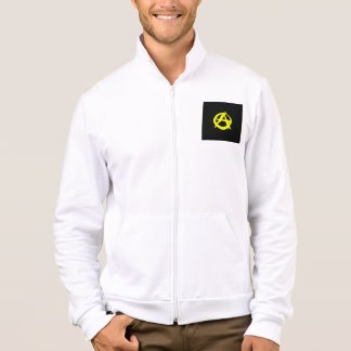 Anarcho Capitalism Black and Yellow Flag Jacket