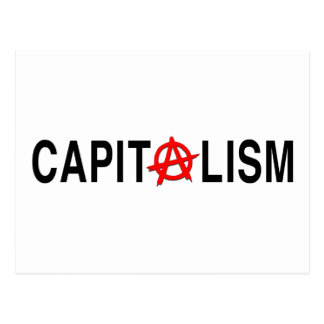 Anarcho Capitalism Postcard