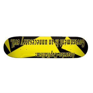 Anarcho-Capitalism: Skateboard Deck