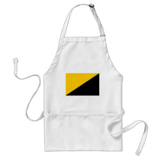 Anarcho Capitalist Black and Yellow Apron
