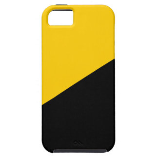 Anarcho Capitalist Black and Yellow iPhone 5 Covers