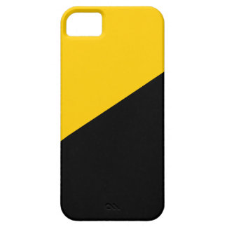 Anarcho Capitalist Black and Yellow iPhone 5 Cases