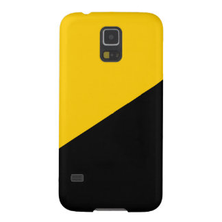 Anarcho Capitalist Black and Yellow Galaxy S5 Cover