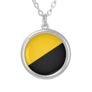 Anarcho Capitalist Black and Yellow Jewelry