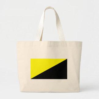 Anarcho-Capitalist Flag Canvas Bag