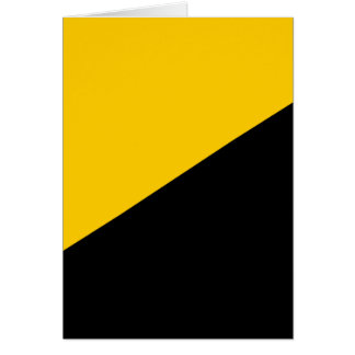 Anarcho Capitalist Flag Greeting Card