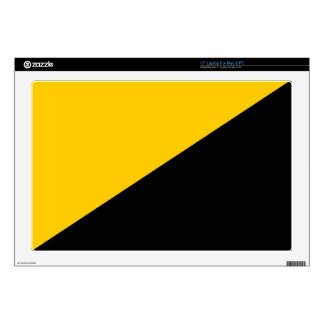 Anarcho Capitalist Flag Decal For Laptop