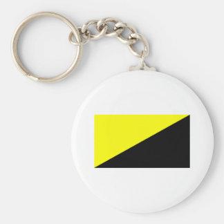 Anarcho-Capitalist Flag Key Chain