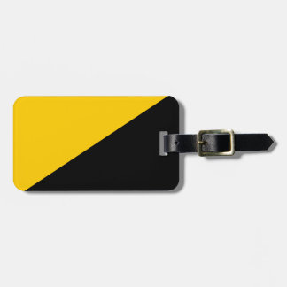 Anarcho Capitalist Flag Tags For Luggage