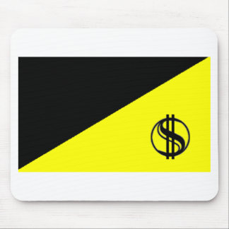 Anarcho-Capitalist Flag Mouse Pad