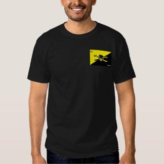 Anarcho-Capitalist Transhumanist Agorist Flag T-Sh T-shirt