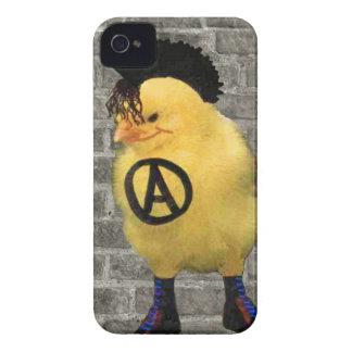 Anarcho Chick Case-Mate iPhone 4 Funda