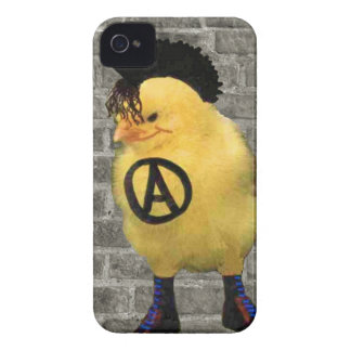 Anarcho Chick iPhone 4 Cover