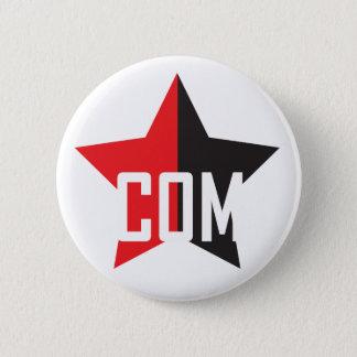 Anarcho-Communist Star Pinback Button