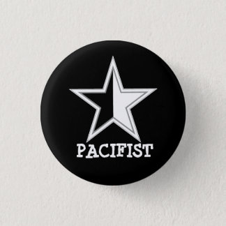 Anarcho-pacifist Star Button