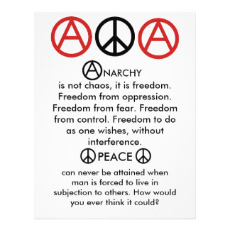 Anarcho-Peace Flyer
