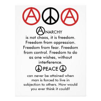Anarcho-Peace Flyer