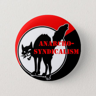 anarcho-syndicalism pinback button