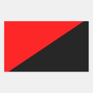 Anarcho-Syndicalist Flag Sticker