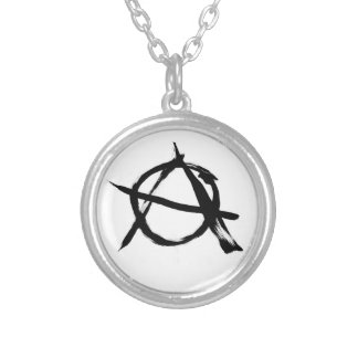 Anarchy A Small Round Plated Necklace