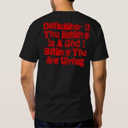 Anarchy Atheist T Shirts