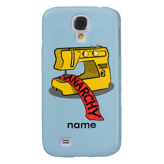 Anarchy Banner Sewing Machine Samsung Galaxy S4 Cover
