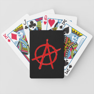 Anarchy Bicycle Playing Cards