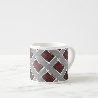 Anarchy Brush Flag Espresso Cup