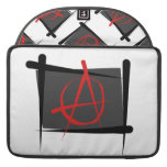 Anarchy Brush Flag Sleeve For MacBook Pro