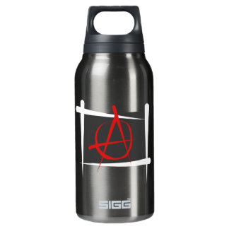 Anarchy Brush Flag Thermos Bottle